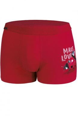 Cornette 010-20 Valentine Чоловічі шорти 62 Make love 2 принт