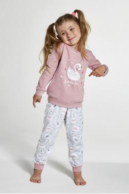 Cornette 387-20 Піжама для дівчат 123 Little swan принт