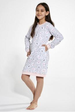 Cornette 396-20 Нічна сорочка для дівчат 137 Swan 3 принт
