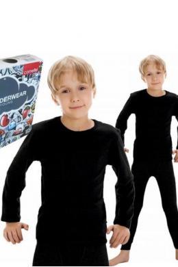 Cornette 214 Kids Футболка для хлопчиків чорний