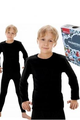 Cornette 214 Young Футболка для хлопчиків чорний