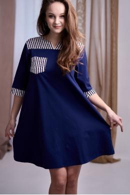 Effetto 0127 Сукня синій