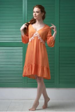 Effetto 0129 Жіноча туніка помаранчевий