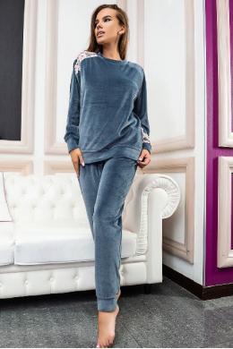 Effetto 03117 Жіночий піжамний комплект сірий