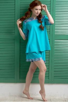 Effetto 0128 Жіночий комплект бирюзовый
