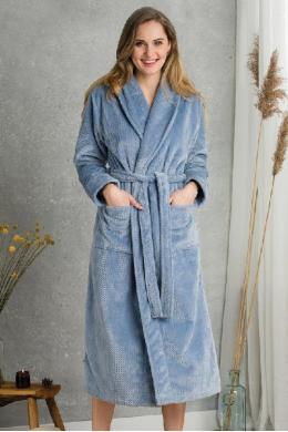 Key LGL 115 B20 Жіночий халат голубий