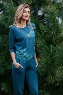 Key Комплект жін кофта+штани LHS 080 B19 multicolor