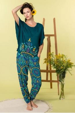 Key Комплект жін футб+штани LHS 905 A20 multicolor