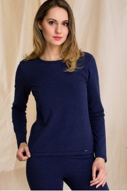 Key LVD 729 1 Жіноча футболка Hot Touch темно-синій