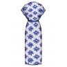 Комплект Obsessive Flowlace peniuar Синий