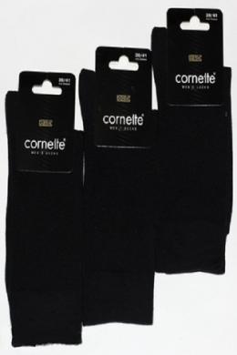 Cornette Basic Чоловічі шкарпетки чорний