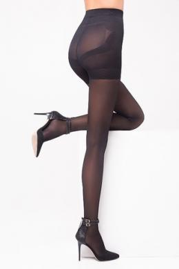 LEGS Колготки утягивающие 303 PUSH-UP 40/140 NERO