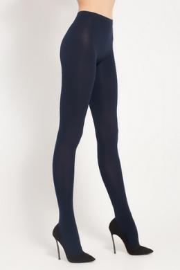 LEGS Колготки из микрофибры 610 VELOUR 100 DARK BLUE
