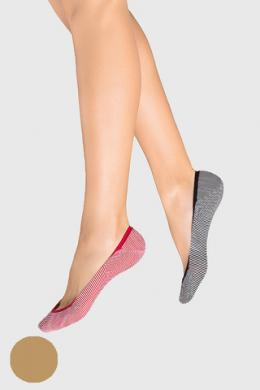 LEGS Следы женские 705 STRIPE NATURALE