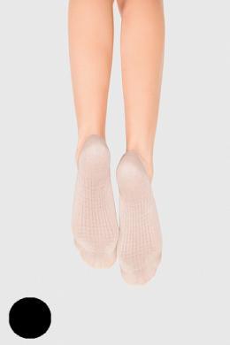 LEGS Следы женские 726 MASSAGE COTTON NERO