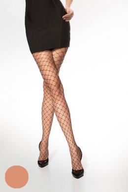 LEGS Колготки в сетку L1143 RETE LARGA BEIGE