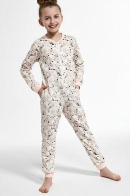 Cornette 105-19 Піжама-комбінезон для дівчат 119 Polar bear 2 принт