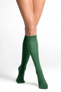 LEGS Гольфы женские из микрофибры 452 ГОЛЬФИ TETTI COLOUR 40 EDEN