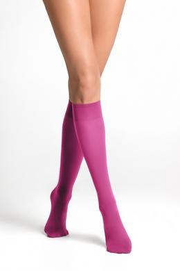 LEGS Гольфы женские из микрофибры 452 ГОЛЬФИ TETTI COLOUR 40 NEW FUXIA