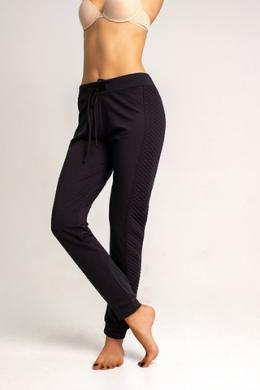LEGS Леггинсы L1448 LEGGINGS JOGGER QUILTED NERO