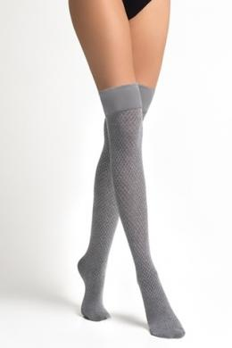 LEGS Заколеновки хлопковые L1520 PARIGINA ROMBI COTONE ANTRACITE MELANGE