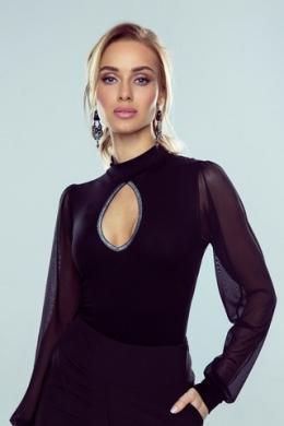 Eldar Блузка жін Christine czarne