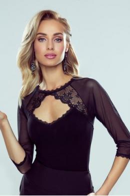 Eldar Блузка жін Aisha czarne