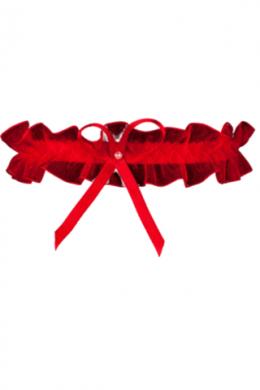 Подвязка Julimex Odessa PW 02 Красный