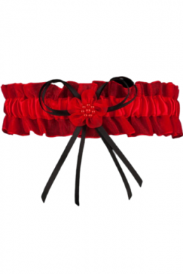 Подвязка Julimex Lizbona PW 22 Красно-черный