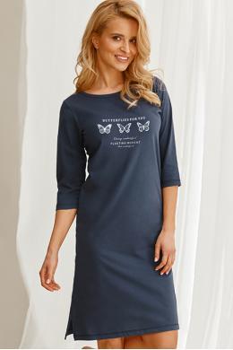 Ночная рубашка Taro Omena 2558 Темно-синий