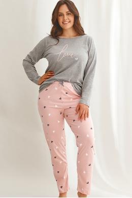 Пижама Taro Cora 2607 Пепельно-розовый