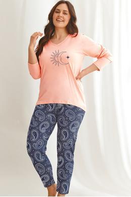 Пижама Taro Omena 2611 Розово-синий