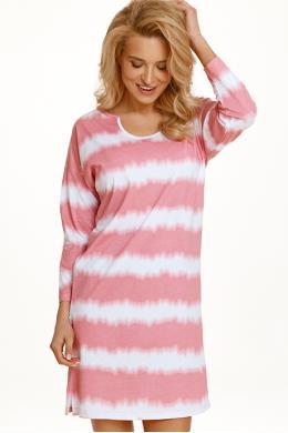 Ночная рубашка Taro Carla 2568 Розово-белый