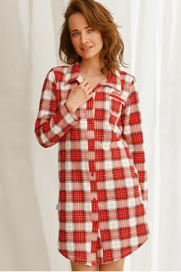 Ночная рубашка Taro Celine 2583 Красно-белый